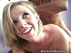 blacks on blondes - Laila Mason