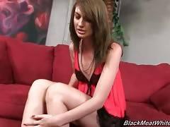 Attractive Alana Rains Has A Foot Fetish 1