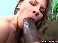 Huge Dick Interracial Porn - Sweet Girl Is Drilled By Black Man 1