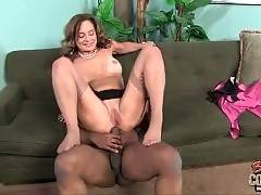 Mature Interracial Porn - She likes to suck