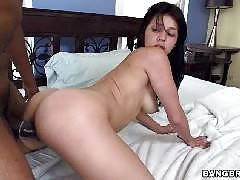 Petite Latina Takes Foot Long Black Cock!. Yenny Contreras