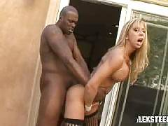 Busty Blonde MILF Morgan Ray Gets Her Pussy Pumped And Her Face Covered By Lex Steele's Massive 12 Incher!. Morgan Ray , Lexington Steele