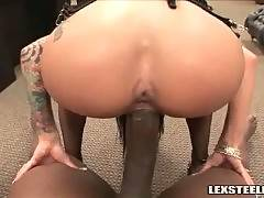 Sexy Whore Enjoys Huge Black Dick 2