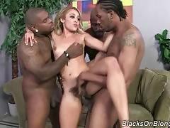 Black Brothas Let Tinslee Reagan Taste Their Rods 3