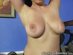 blacks on blondes - Laila Mason