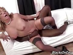 Black Dude Attacks Nasty Aged White Lady 3