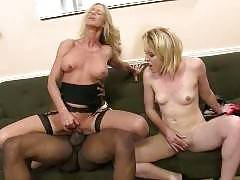 Mother and daughter have both leading deviant lifestyles and they're about to come to an intense melting point. Simone Sonay and Miley Mae
