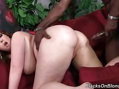 Felicia Clover Enjoys Thick Black Bone 3